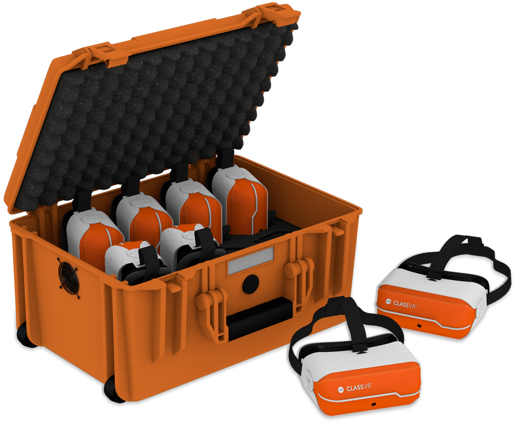 class VR designed for students