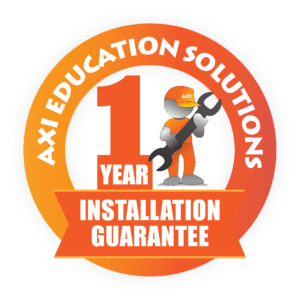 AXI One Year Installation Guarantee logo
