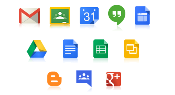 Google for Education icons